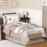 Sweet Jojo Designs Unisex 'Little Lamb' 3-piece Full/Queen Comforter Set