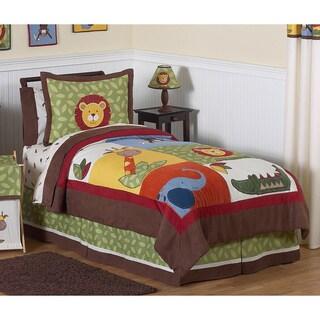 Link to Sweet Jojo Designs Boys 'Jungle Time' Full/Queen 3-piece Comforter Set Similar Items in Kids Comforter Sets