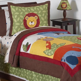 Sweet Jojo Designs Boys 'Jungle Time' Full/Queen 3-piece Comforter Set