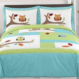 Sweet Jojo Designs 'Hooty Owl' Full/Queen 3-piece Comforter Set