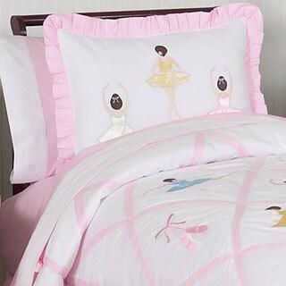 Sweet Jojo Designs Girls 'Ballerina' Full/Queen 3-piece Comforter Set