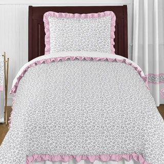 Sweet Jojo Designs Girls 'Kenya' 4-piece Twin Comforter Set