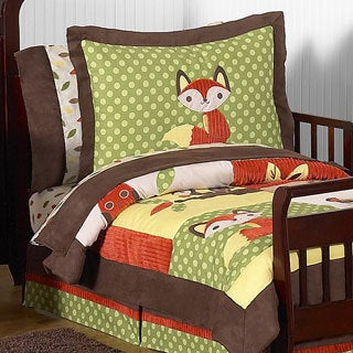 Sweet Jojo Designs 5-piece Woodland Forest Toddler Comforter Set