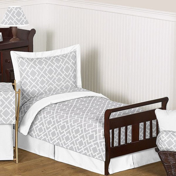 Sweet Jojo Designs Unisex 5-piece Diamond Toddler Comforter Set