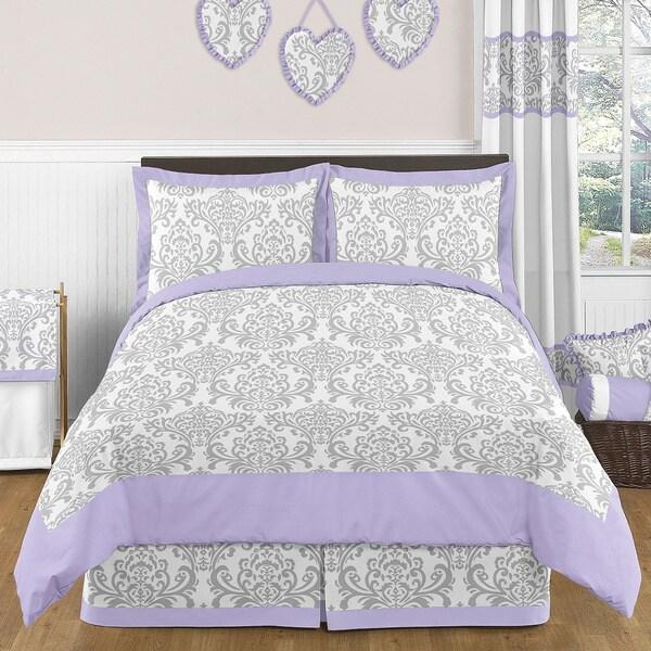 Sweet Jojo Designs Girls 3-piece Elizabeth Full/Queen Comforter Set