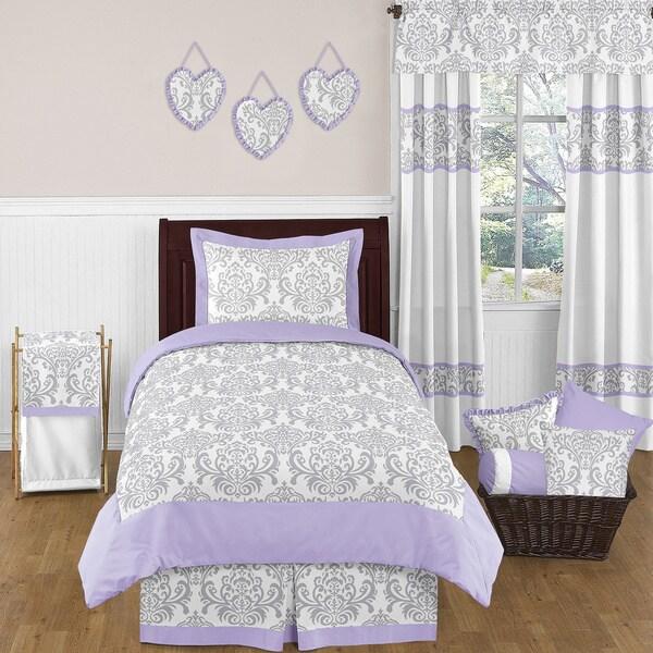 Sweet Jojo Designs Girls Elizabeth 4-piece Twin Comforter Set