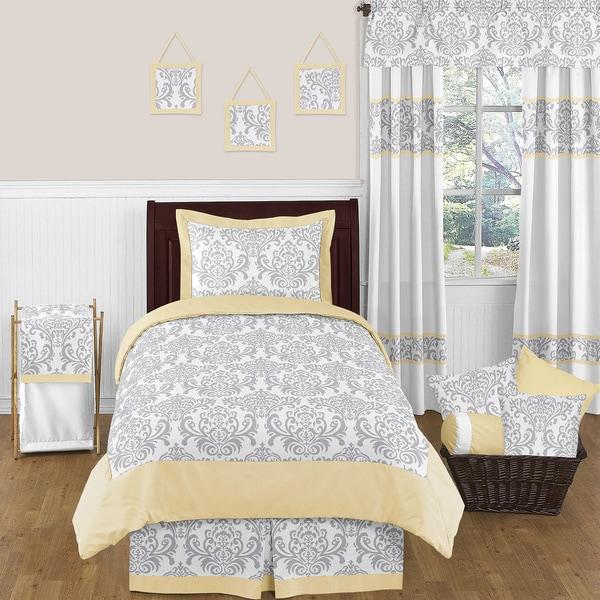 Sweet Jojo Designs Unisex 4-piece Avery Comforter Set