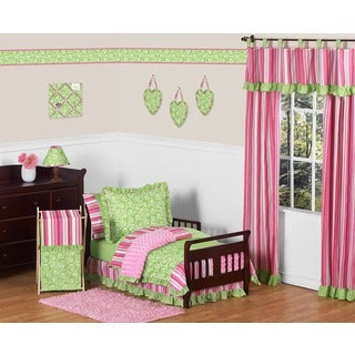 Sweet Jojo Designs Girl Olivia Boutique Toddler 5-piece Comforter Set