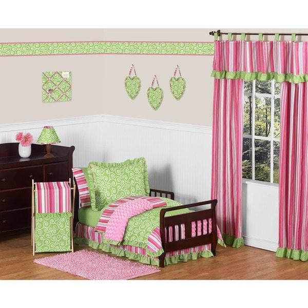 Sweet Jojo Designs Girl Olivia Boutique Toddler 5-piece Comforter Set