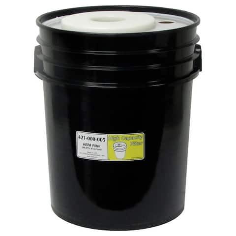 HEPA 5-gallon Black Filter