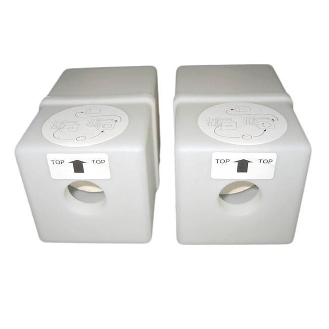 ATRIX Express White Toner Filter (Pack of 2) (Plastic)