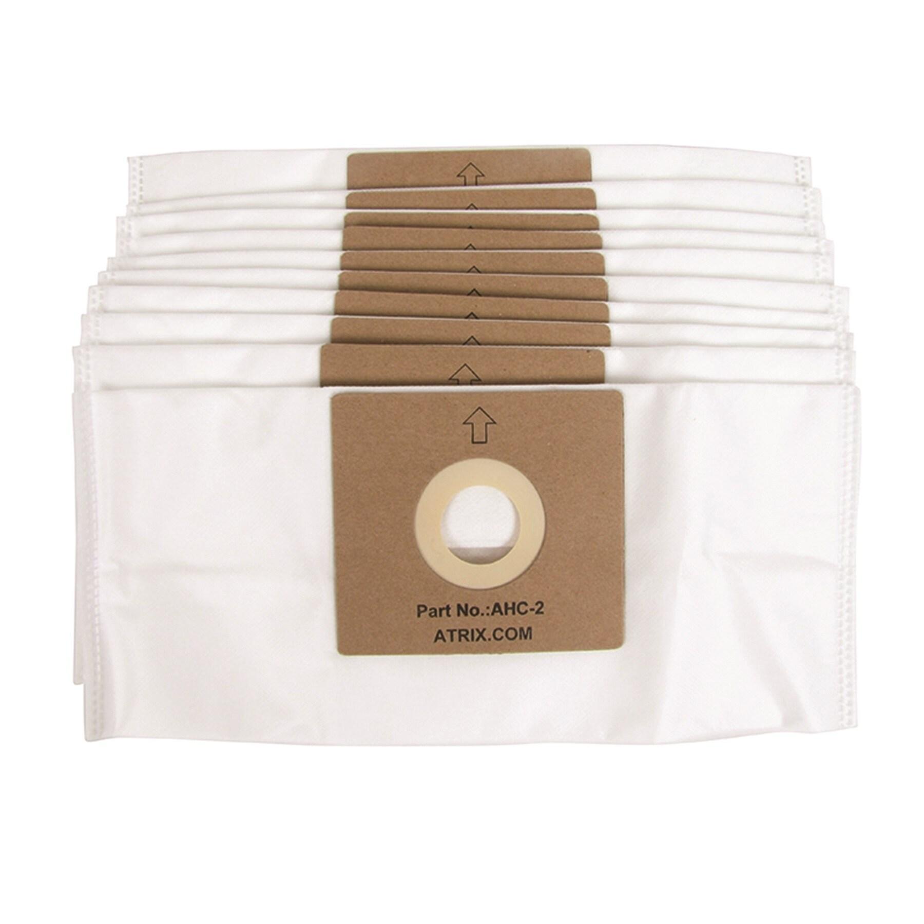 ATRIX Hepa White Vacuum Filter Bags Bags for AHC-1 (Pack ...