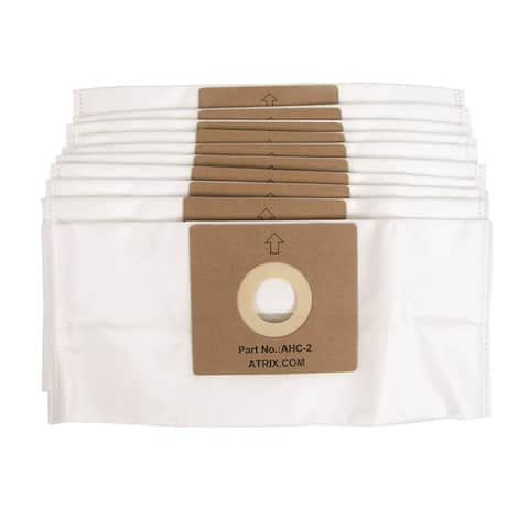HEPA White Vacuum Filter Bags Bags for AHC-1 (Pack of 10)