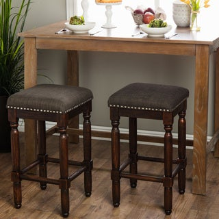 Carbon Loft Branson Coffee Counter Stools (Set of 2)