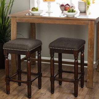 Gracewood Hollow Renate Coffee Counter Stools (Set of 2)
