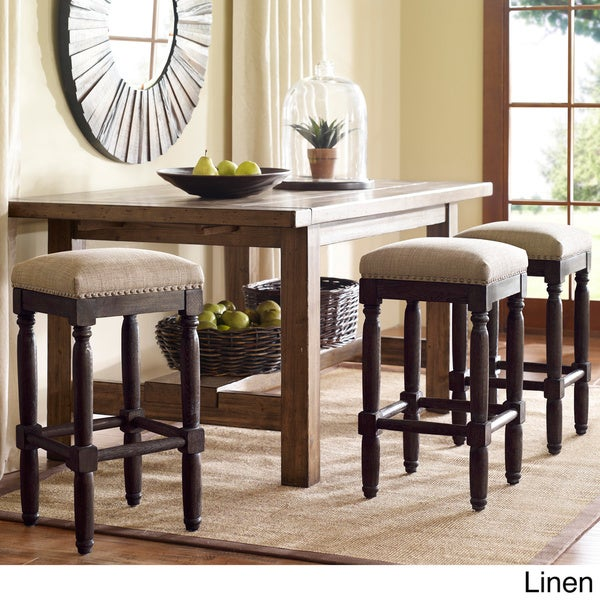 Counter Stools Overstock: Renate Coffee Counter Stools (Set Of 2)