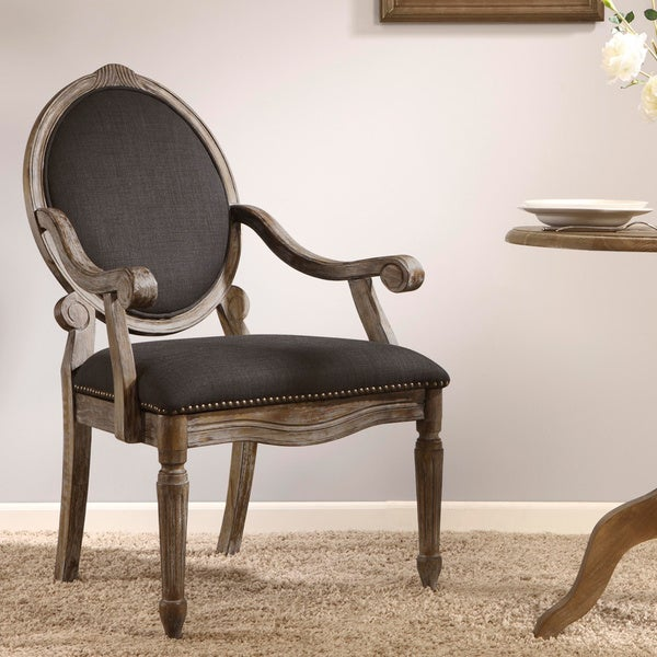 Maison Rouge Brentwood Grey Dining Armchair