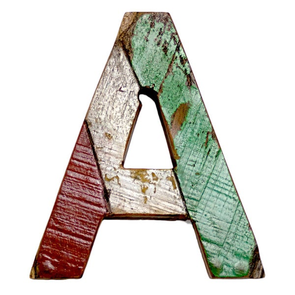 Ecologica Reclaimed Wood Letters