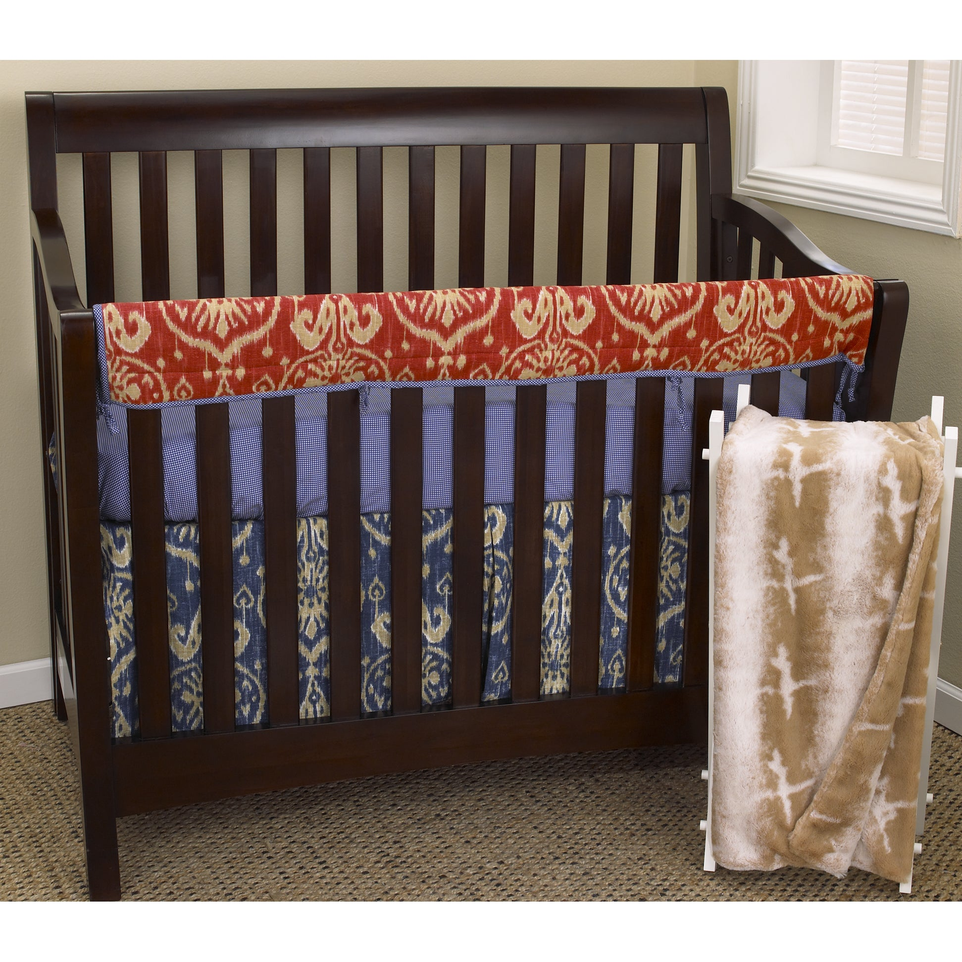 Cotton Tale Sidekick Front Rail Cover Up 4-piece Crib Bed...