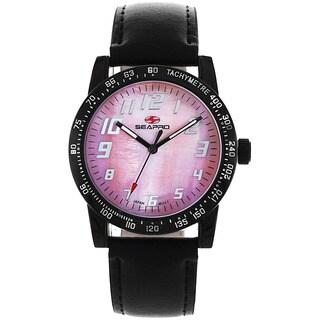 Seapro Women's Pink Dial Bold Watch