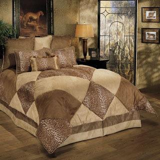 Sherry Kline Wild Safari Taupe 8-piece Comforter Set