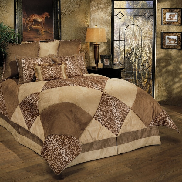 Sherry Kline Wild Safari Taupe 8-piece Comforter Set