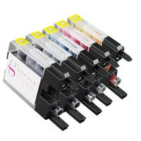 Sophia Global Compatible Ink Cartridge Replacement for Brother LC75 (2 Black, 1 Cyan, 1 Magenta, and