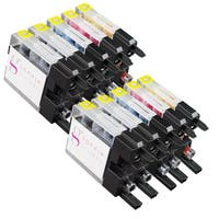 Sophia Global Compatible Ink Cartridge Replacement for Brother LC75 (4 Black, 2 Cyan, 2 Magenta, and