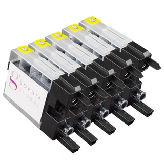 Sophia Global Compatible Ink Cartridge Replacement for Brother LC79 (5 Black)