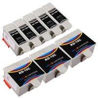Sophia Global Compatible Ink Cartridge Replacement for Kodak 10XL (5 Black, 3 Color)