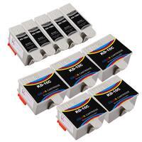 Sophia Global Compatible Ink Cartridge Replacement for Kodak 10XL B (5 Black, 5 Color)