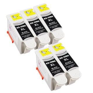 Sophia Global Compatible Ink Cartridge Replacement for Kodak 30XL (5 Black)