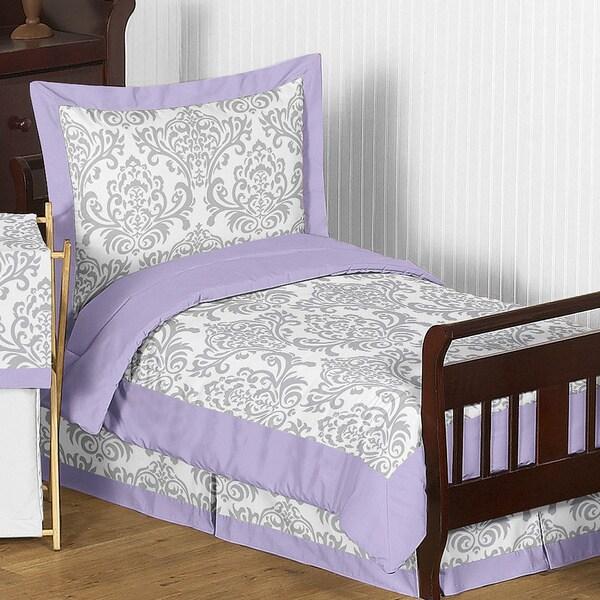 Sweet Jojo Designs Girl 5-piece Elizabeth Toddler Comforter Set