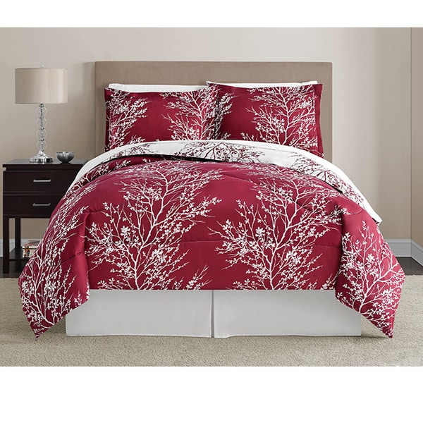 VCNY Leaf 8-piece Bed in a Bag with Sheet Set