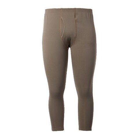 Men's Terramar Military Fleece Pant Military Brown