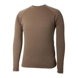 Men's Terramar Military Fleece Crew Military Brown