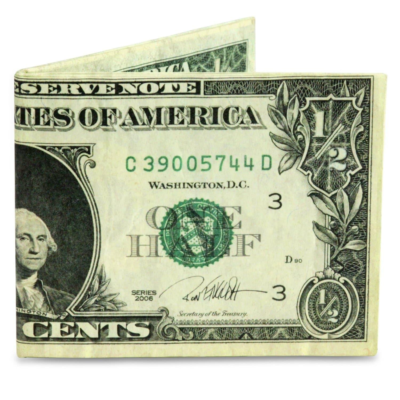 The Mighty Wallet Half Dollar The Original Tyvek
