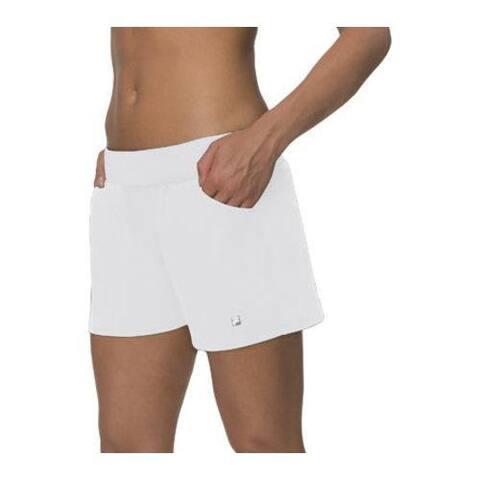 Women's Fila Essential Woven Short White