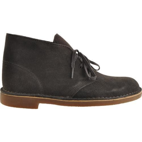 00343a07 Men's Clarks Bushacre 2 Steel Blue Suede | Overstock.com Shopping - The  Best Deals on Boots