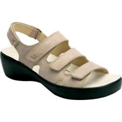 Women's Drew Alma Taupe Smooth Leather