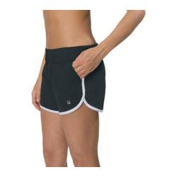 Women's Fila Woven Practice Short Black/White