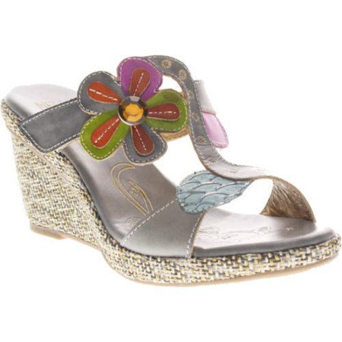 Women's Spring Step Riviera Gray Leather