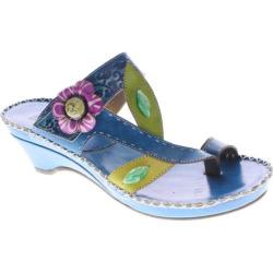 Women's Spring Step Belanus Turquoise Leather
