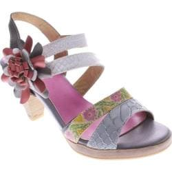 Women's Spring Step Plato Gray Multi Leather