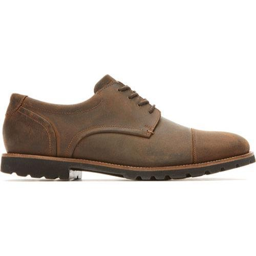 Men's Rockport Channer Oxford Brown II Leather - Thumbnail 1