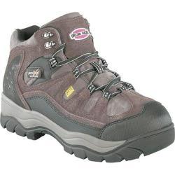 Men's Iron Age High Ridge Mid High Poron Internal Met Guard Boot Brown Leather