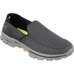 Men's Skechers GOwalk 3 Charcoal/Orange