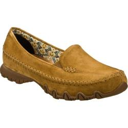 Women's Skechers Relaxed Fit Bikers Pedestrian Brown/Brown