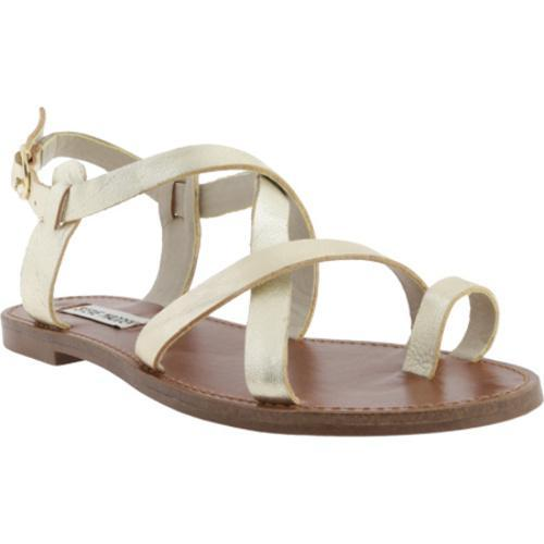 5e3abc7e8d9b Shop Women s Steve Madden Agathist Gold Leather - Free Shipping Today -  Overstock.com - 9829157