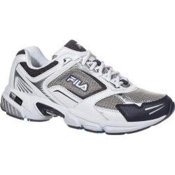 Men's Fila Decimus 3 Metallic Silver/White/Fila Navy